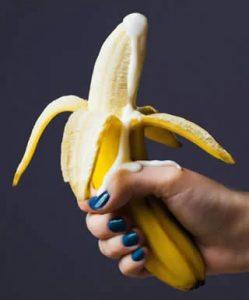 banana eiaculazione